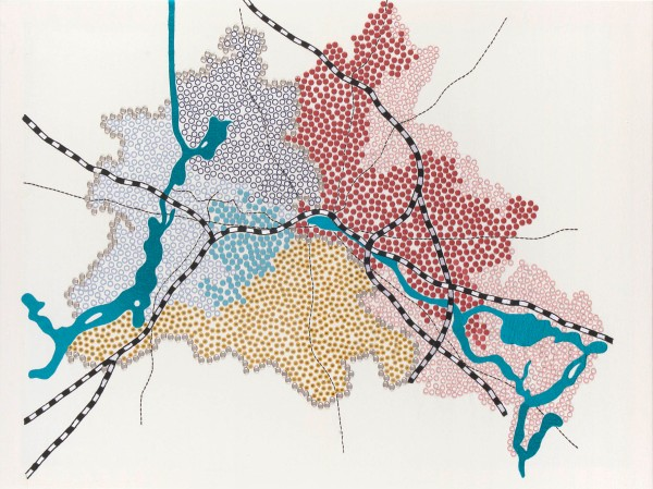 Tiffany Chung's Berlin Wall
