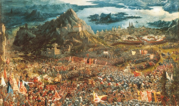 Albrecht Altdorfer's Alexanderschalacht